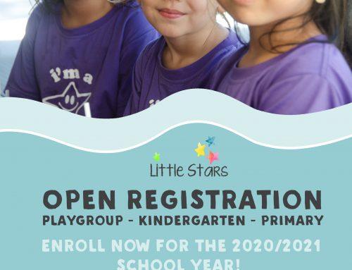 Open Registration 2020/2021